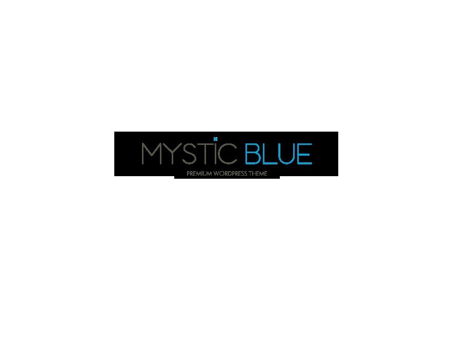 mysticblue WordPress theme