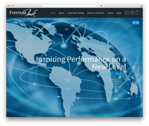 Reload WordPress theme design - formulaink.com