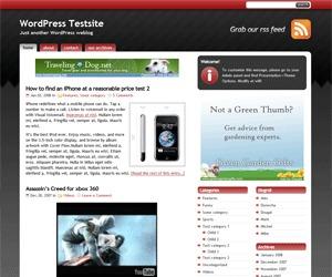 StudioPress_Red WordPress website template