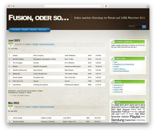 Template WordPress Arclite - fusionoderso.de
