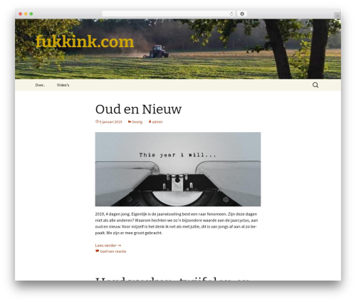 Twenty Thirteen free WP theme - fukkink.com