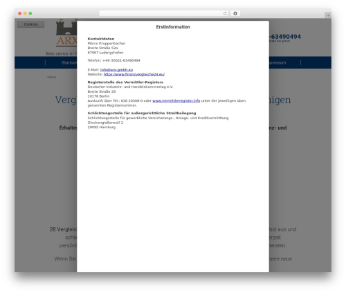 twin T4 best WordPress template - finanzvergleiche24.eu