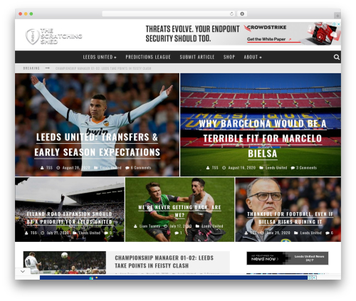 WordPress theme Valenti (Share on Theme123.Net) - thescratchingshed.com