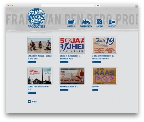 WP template Frank - frankvandenbergproducties.nl