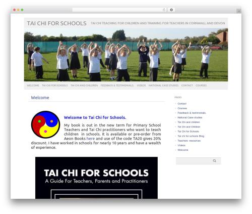WP theme picolight - taichiforschools.co.uk