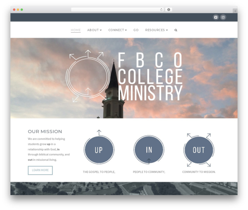 X WordPress theme - fbcocollege.com