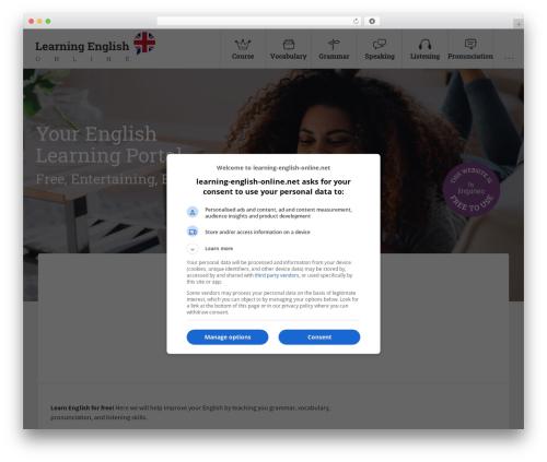 Free WordPress MailChimp for WordPress plugin - learning-english-online.net