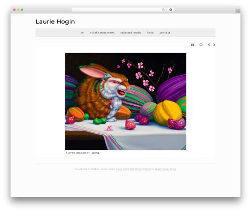 Template WordPress base - lauriehogin.com