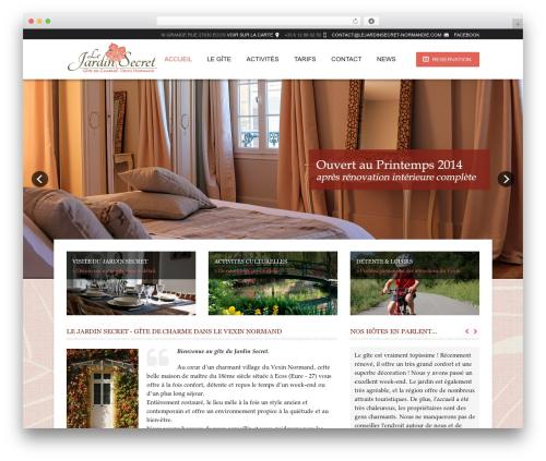 Template WordPress Hotec - lejardinsecret-normandie.com