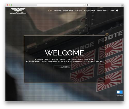 WordPress hmenu plugin - lauridsenaviationmuseum.com