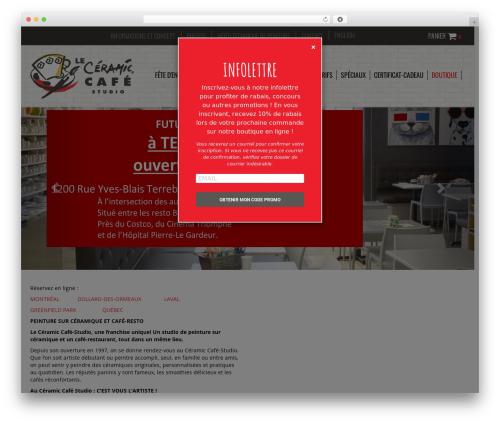 WordPress theme Agence Oz Demo - leccs.com