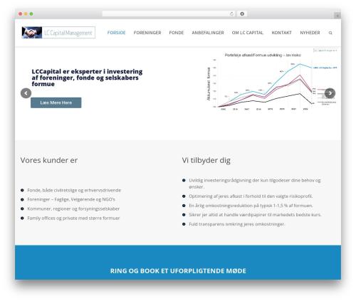 WordPress theme Cardinal - lccapital.dk