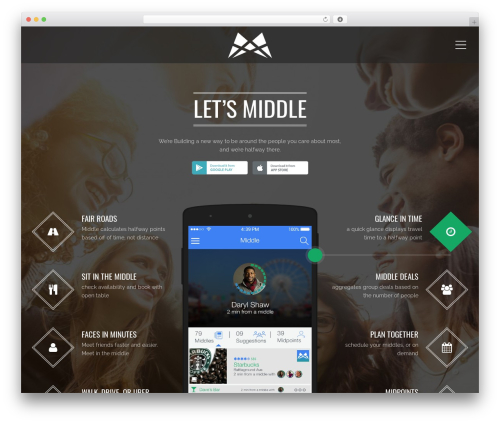 Applay WordPress theme - letsmiddle.com