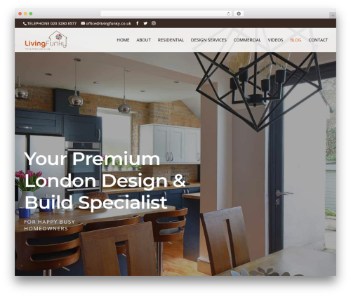 Free WordPress WordPress Follow Buttons Plugin – AddThis plugin - livingfunky.co.uk