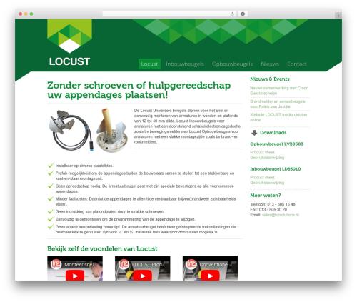 Nano2 WordPress theme - locust-products.com