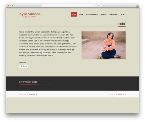 Theme WordPress Tesla - kylievincent.com