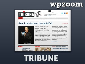 Tribune Theme best WordPress template