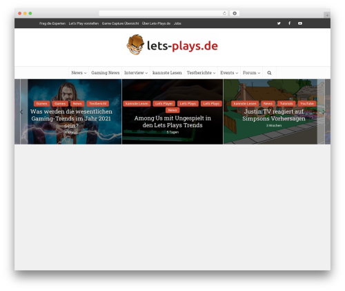 Free WordPress Meks Smart Social Widget plugin - lets-plays.de