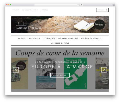 WordPress theme SimpleMag - latitude-litteraire.fr