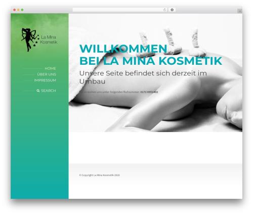 BeautySpot top WordPress theme - lamina-kosmetik.de