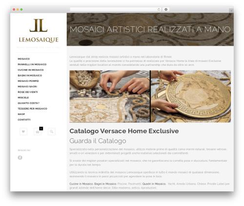 Butiko WordPress page template - lemosaique.it
