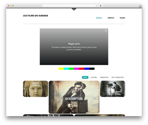Daisho premium WordPress theme - lesfilmsdugarage.fr