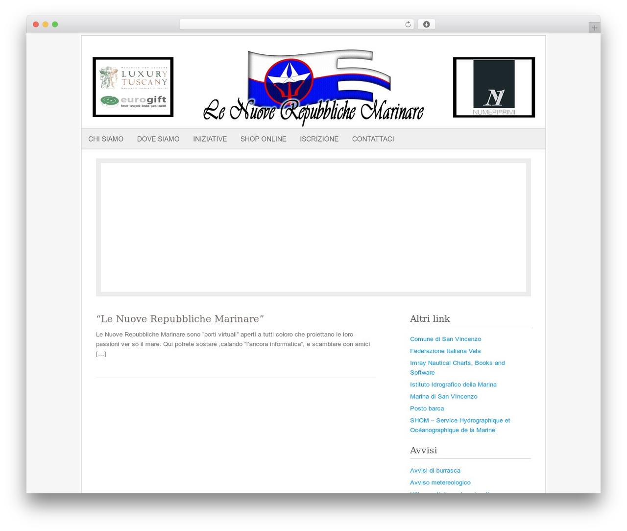Fresh And Clean WordPress theme - lenuoverepubblichemarinare.it