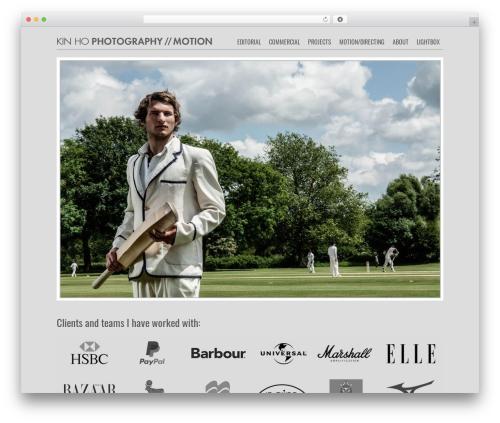 Photojax WP theme - kinho.com