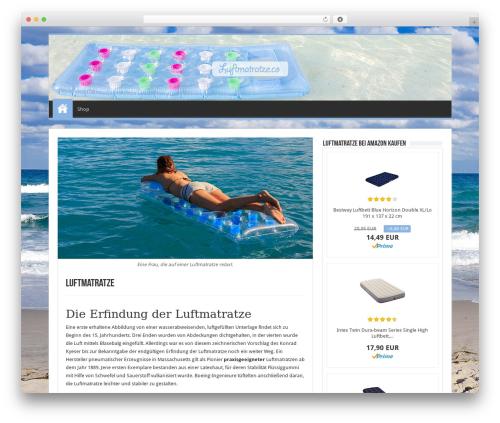 Sahifa theme WordPress - luftmatratze.co