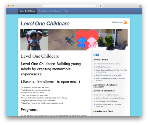 Free WordPress googleCards plugin - levelonechildcare.com