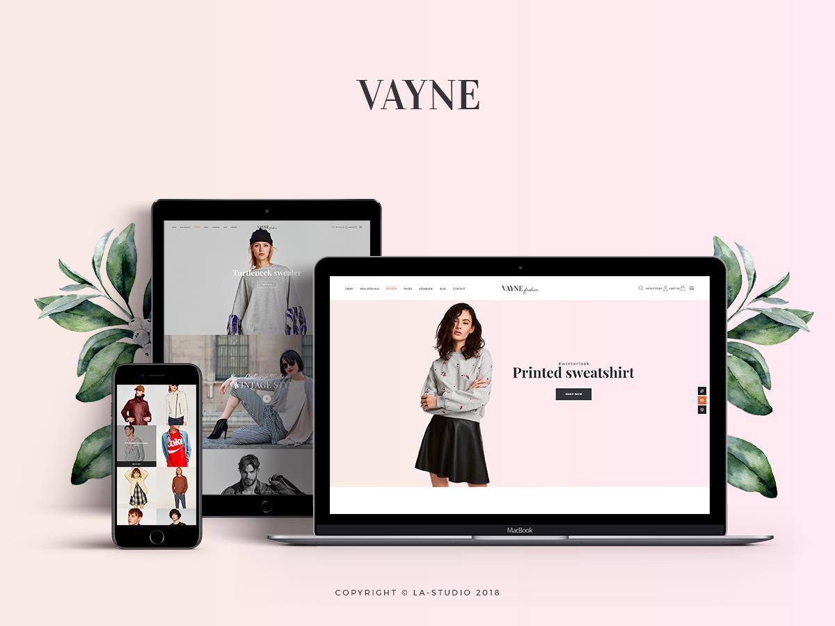 Vayne WordPress ecommerce theme