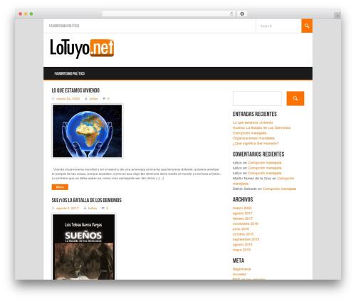 WordPress theme Koenda - lotuyo.net/wp