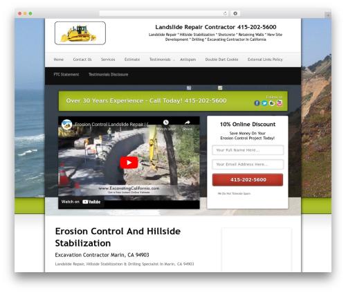 WordPress theme Local Lead Arsenal - landslidemarin.com