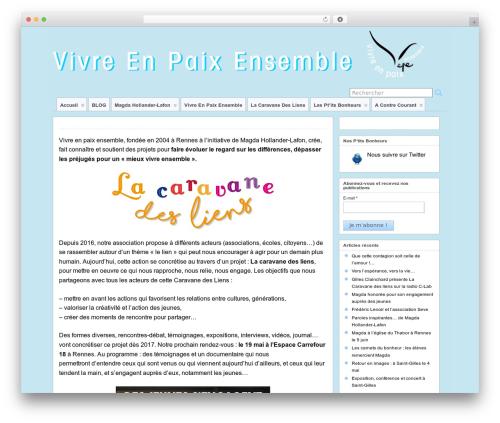 Best WordPress theme Suffu-scion - lesamisdemagda.fr