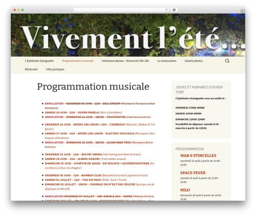 Free WordPress WP SEO HTML Sitemap plugin - lephemereguinguette.com