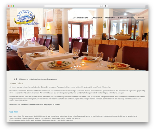 Free WordPress TablePress plugin - la-gondola-doro.de