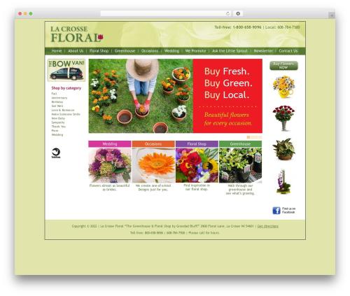 BLANK Theme WordPress theme - lacrossefloral.net