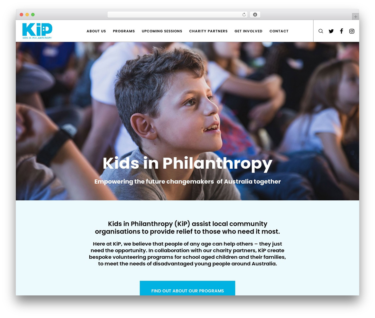 Movedo WordPress theme - kip.org.au