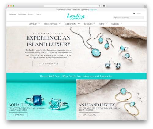 Storechild WordPress ecommerce theme - landingcompany.com