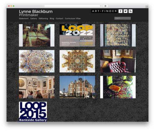 Template WordPress Mixfolio - lynneblackburn.com