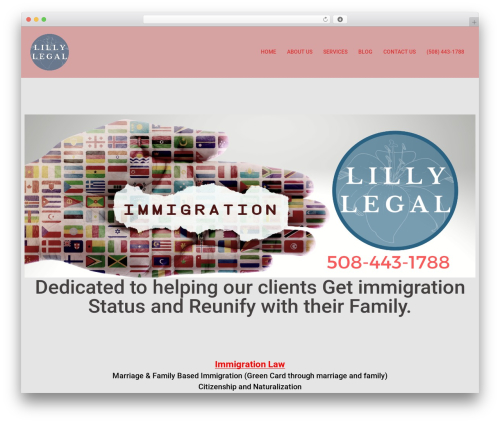 Theme WordPress Sydney - lillylegal.com