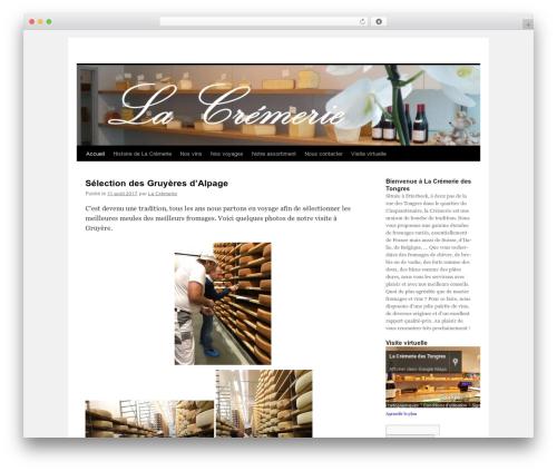 Twenty Ten free website theme - lacremerie.eu