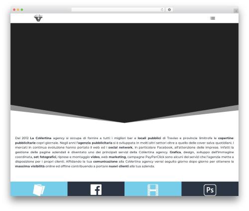 WordPress theme Divi - lacovertina.it