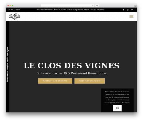 Free WordPress Simple Popup Manager plugin - leclosdesvignes.fr