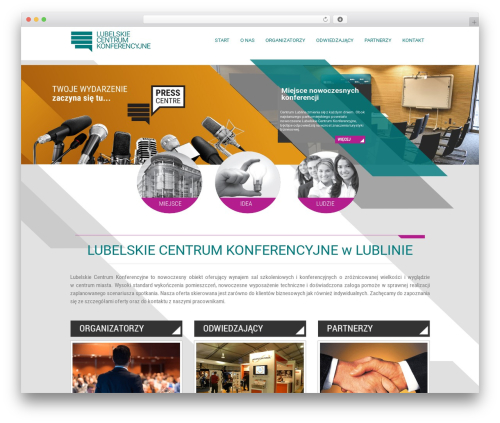 EXCEPTION WordPress page template - lcklubelskie.pl