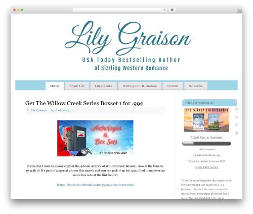 Free WordPress WordPress Countdown Widget plugin - lilygraison.com