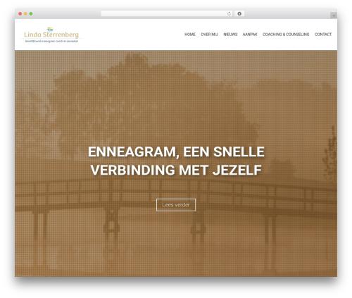 Template WordPress AccessPress Parallax - lindasterrenberg.nl