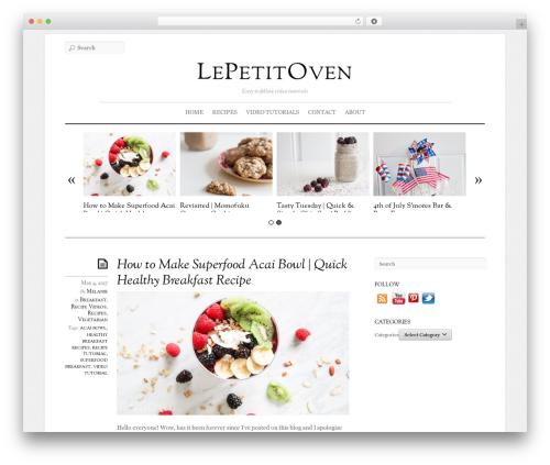 Theme WordPress Elemin - lepetitoven.com