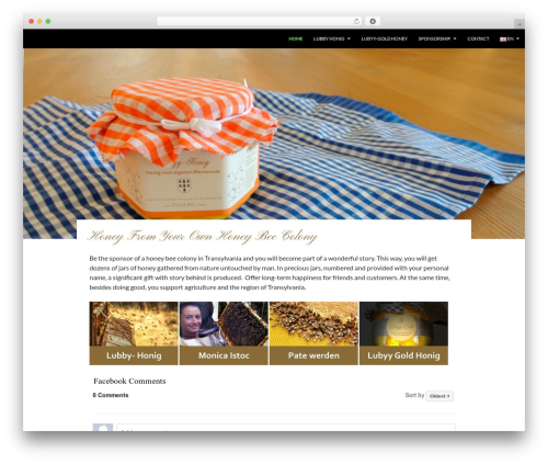 Twenty Fourteen free WordPress theme - lubyy-honig.com