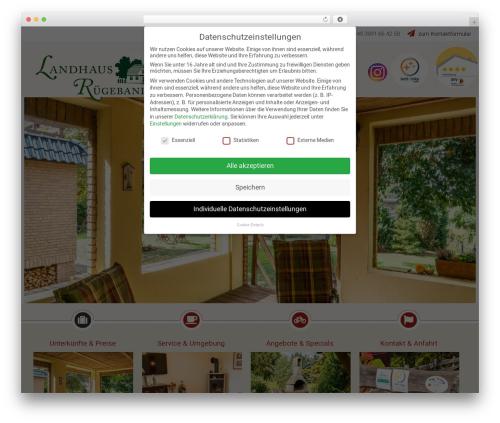 Free WordPress News Manager plugin - landhaus-ruegeband.de